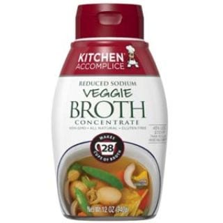 Kitchen Accomplice Reduced Sodium Vegetable Style Broth Concentrate