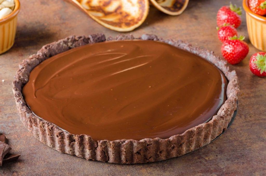Venus' Chocolate Macadamia Nut Tart Recipe