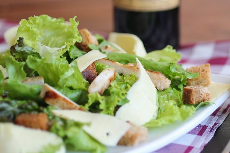 Warm Chicken Salad with Mustard Vinaigrette Chicken Salad Recipe