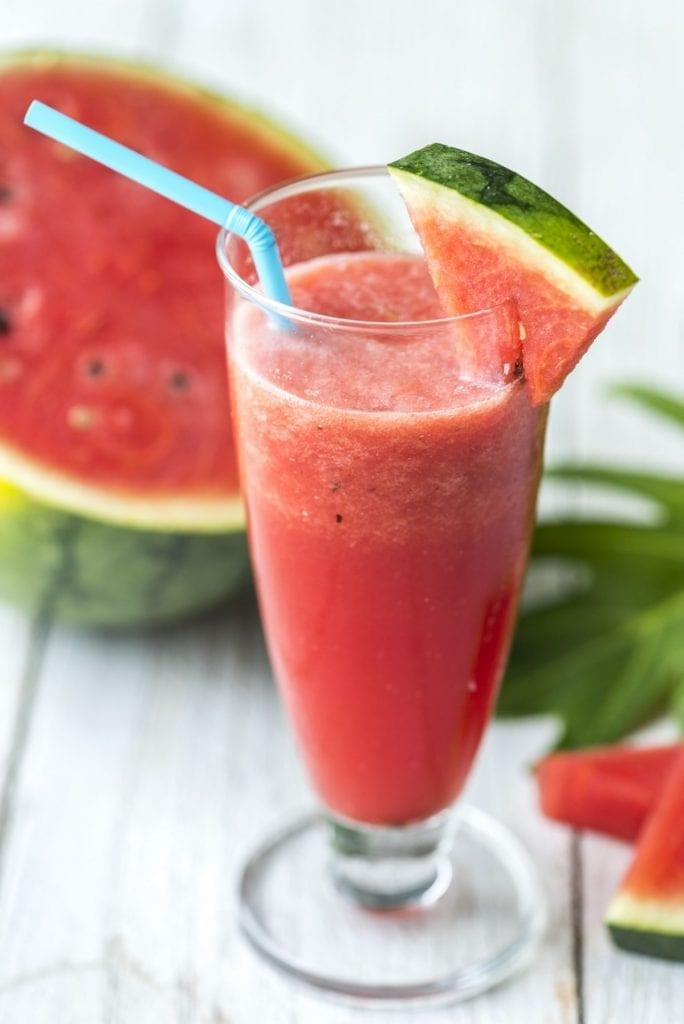 Watermelon Berry Slushies Recipe