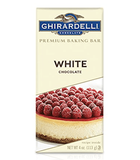 Ghirardelli Premium Baking Bar White Chocolate
