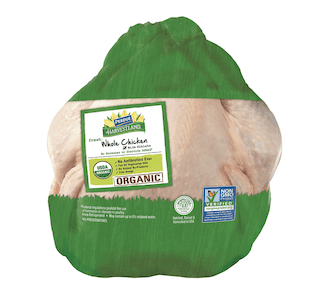 Perdue Harvestland, Organic Whole Chicken