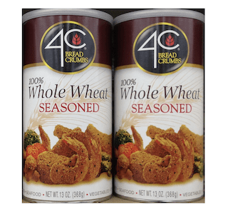 4C 100% Whole Wheat Seasoned Bread Crumbs