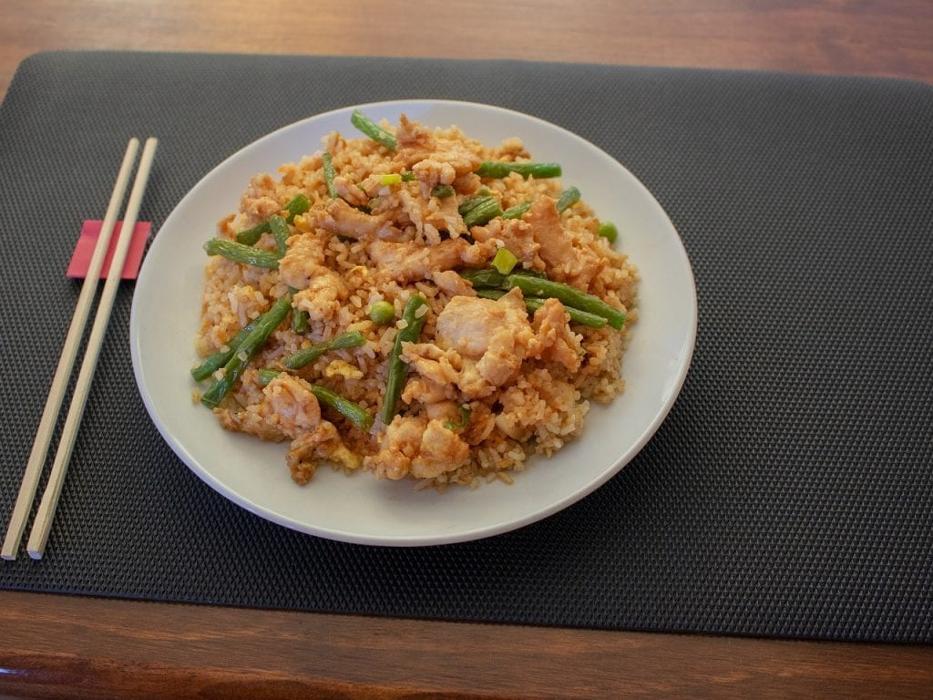 15-Minute Chicken And Rice Dinner Recipe