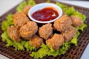 Vegetarian Wendy's Copycat Buffalo Nuggets Recipe