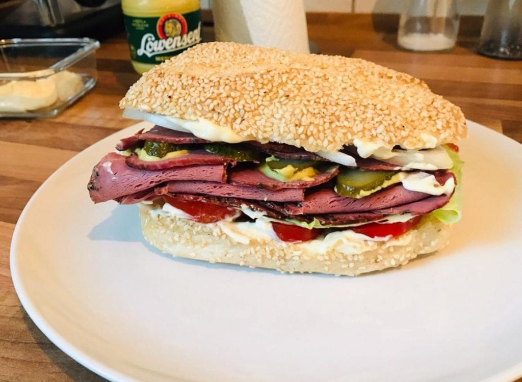 German-Style Beef Sandwiches Recipe