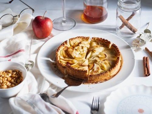 Alice Waters' Apple Tart Recipe