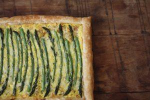 Asparagus Gruyère Tart Recipe