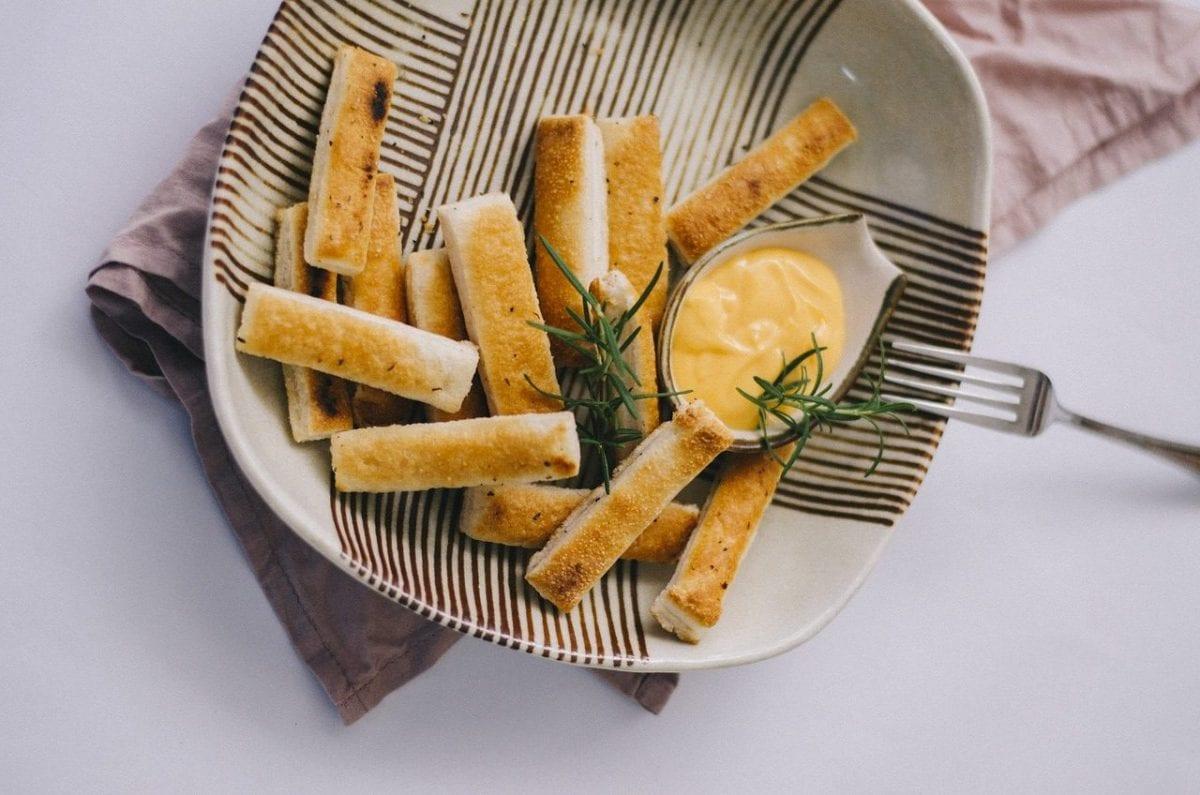 Banana Bread Sticks