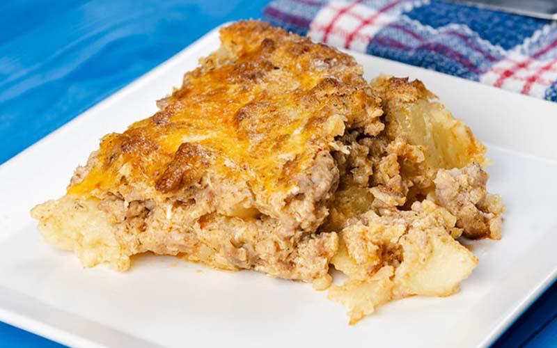 Cheesy Chicken and Mashed Potato Casserole Recipe