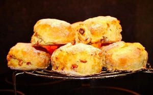 Cherry Orange Scones Recipe