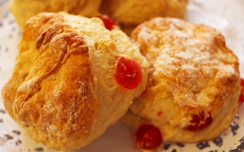 Cherry Scones Recipe