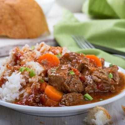Slow Cooker Classic Pot Roast & Rice Recipe
