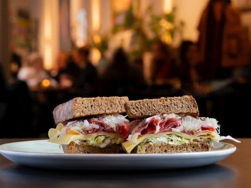 Reuben Sandwich Recipe (Arby's Copycat), arby's classic girlled reuben sandwich with deli corned beef and sauerkraut