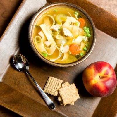 Copycat Panera Chicken Noodle Soup Recipe