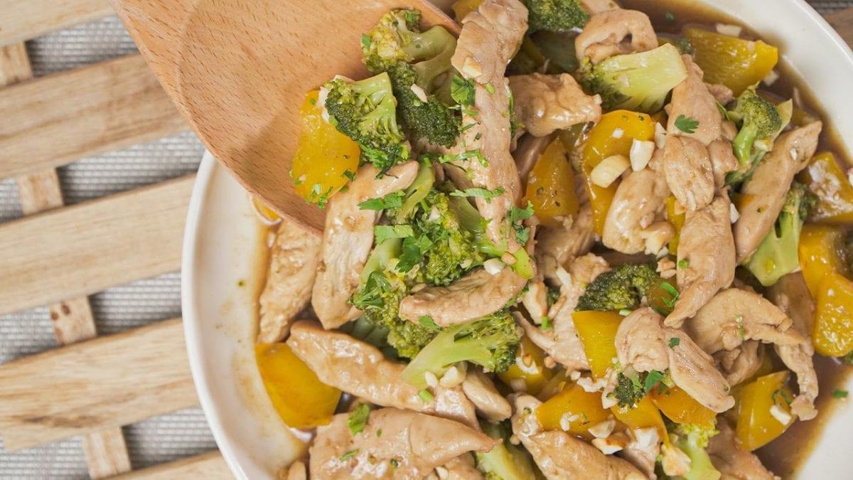 Diabetic-Friendly Broccoli Chicken Stir Fry
