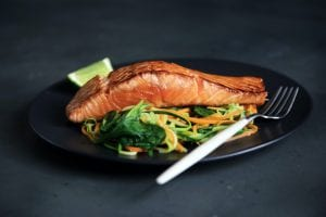 Diabetic Friendly Grilled Salmon