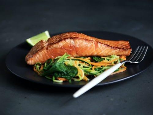 Diabetic-Friendly Grilled Salmon