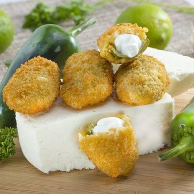 Fresh Mozzarella Jalapeno Poppers Recipe