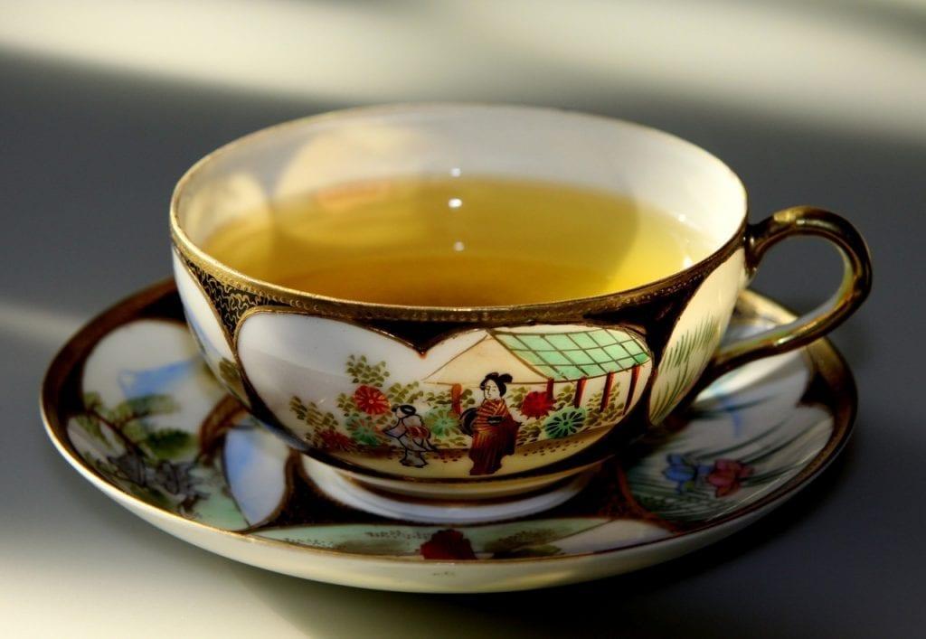 Hot Green Tea with Vodka Recipe