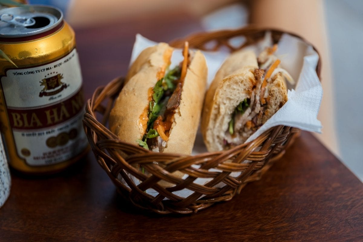 Ham and Brie Baguette Sandwiches with Honey-Mustard Mayonnaise Recipe