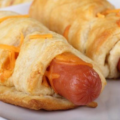 Hot Dogs Under Wrap Recipe