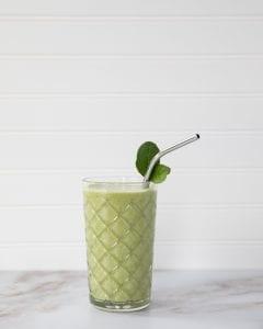 Kiwi Mango Lassi Smoothie Recipe