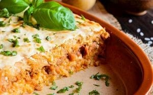 Layered Cabbage and Ground Beef Recipe