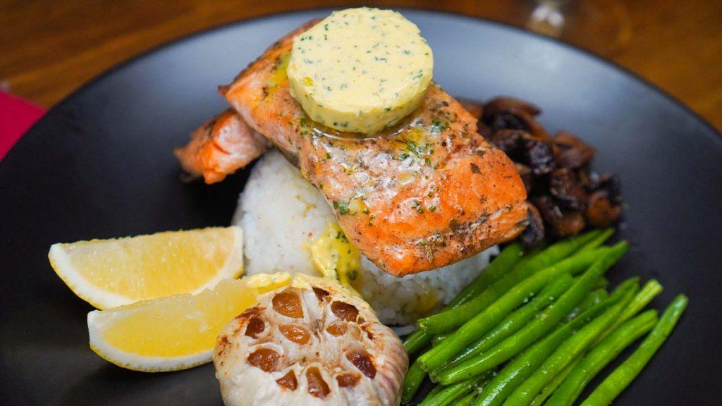 Olive Garden's Herb Grilled Salmon Recipe