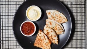 Quick Chicken Quesadillas Recipe
