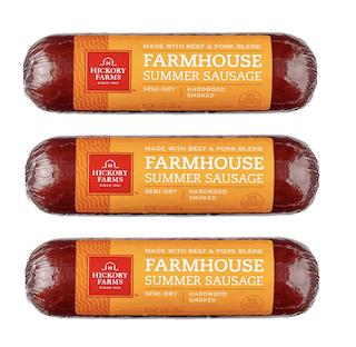 Hickory Farms Farmhouse Summer Sausage