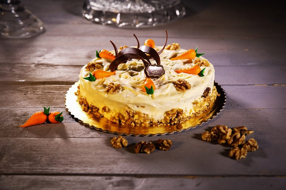 Scott's Carrot Cake with Cream Cheese Frosting Recipe