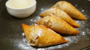 Spago's Apple Strudel Turnover Recipe