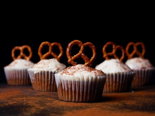 Spice Muffins With Maple Cinnamon Frosting