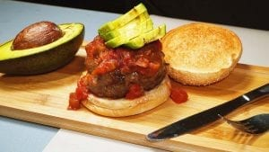 Spicy Fiesta Burger Recipe