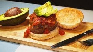 Spicy Fiesta Burger Recipe