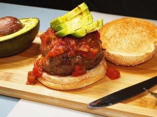 Spicy Fiesta Burgers Recipe