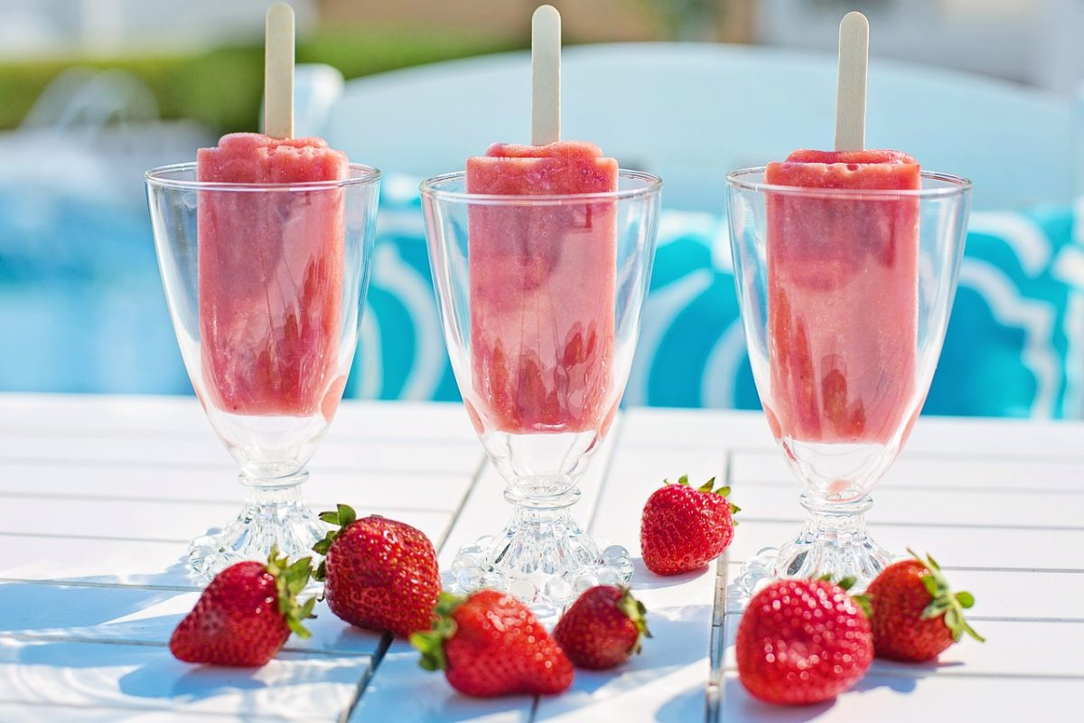 Strawberry Margarita Popsicles Recipe