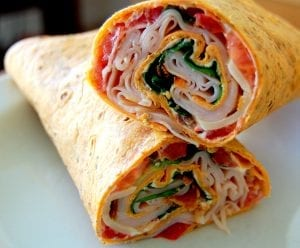 Sun Dried Turkey Wraps Recipe