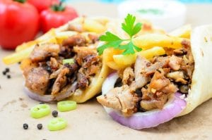 Tasty Low-Carb Turkey Fajita Wrap Recipe