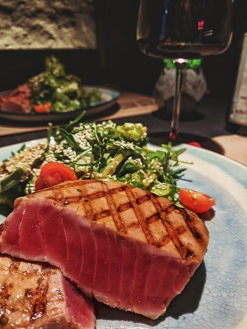 Tuna Steaks with Wasabi Ginger Glaze Recipe