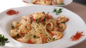 Uno's Shrimp Scampi Pasta Recipe