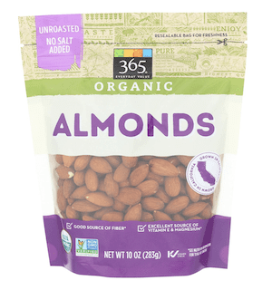 365 Everyday Value, Organic Almonds