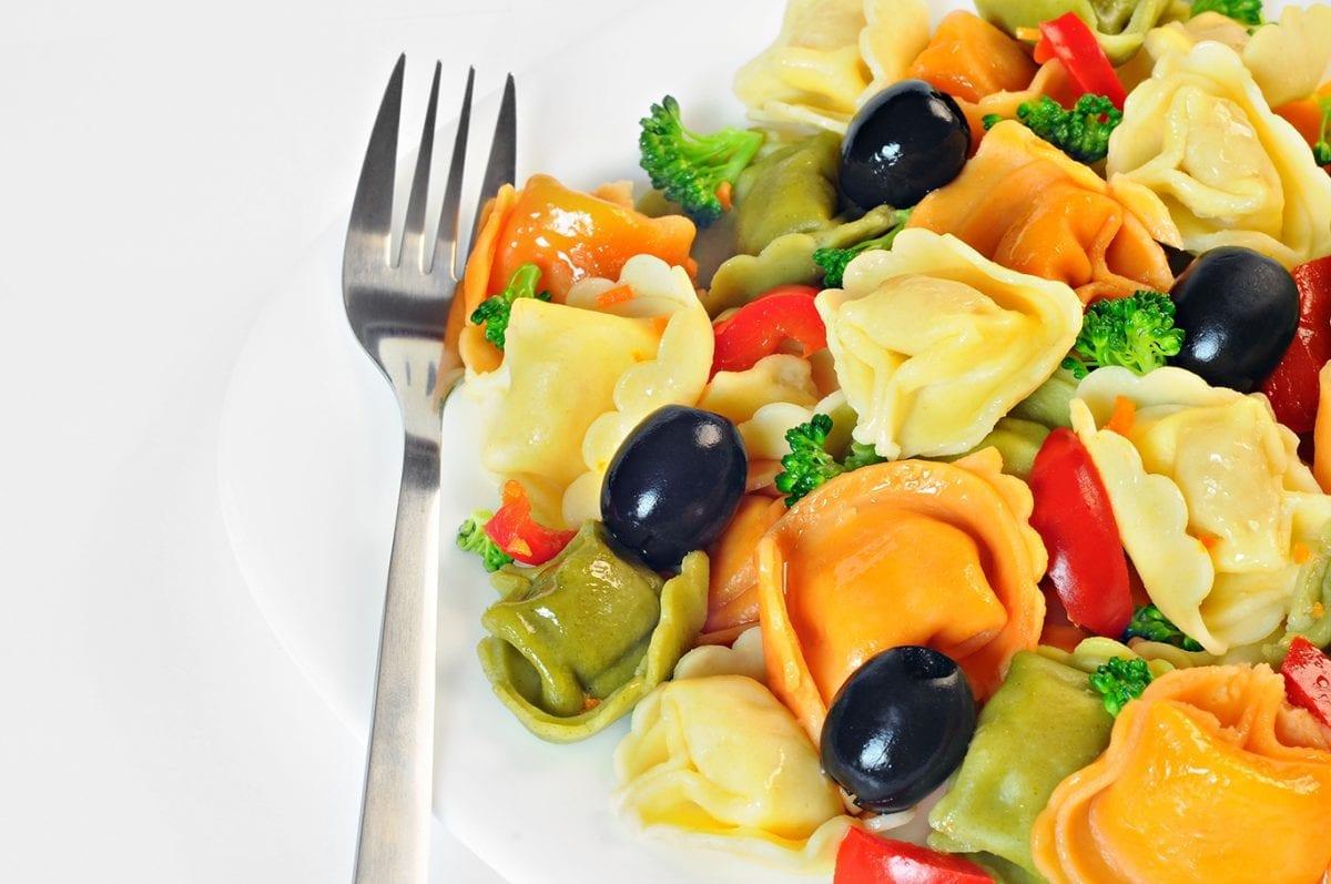 amazing tortellini salad