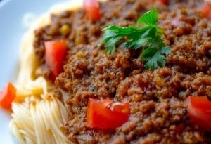 Angel Hair Goulash Recipe