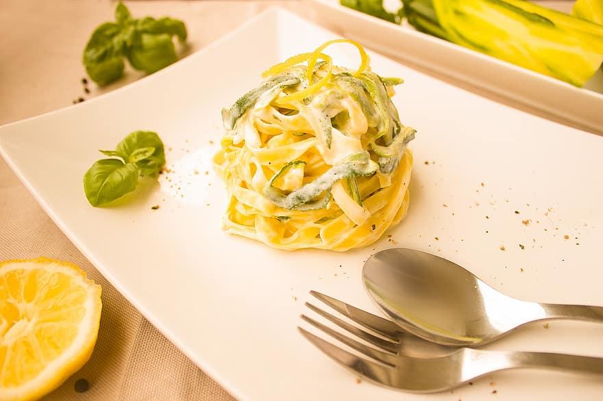 Angel Hair Pasta with Lemon Chicken Recipe