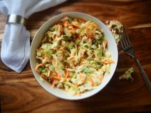 Apple Raisin Cole Slaw Recipe