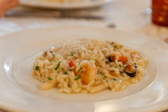 Asiago Garlic Orzo Pilaf Recipe