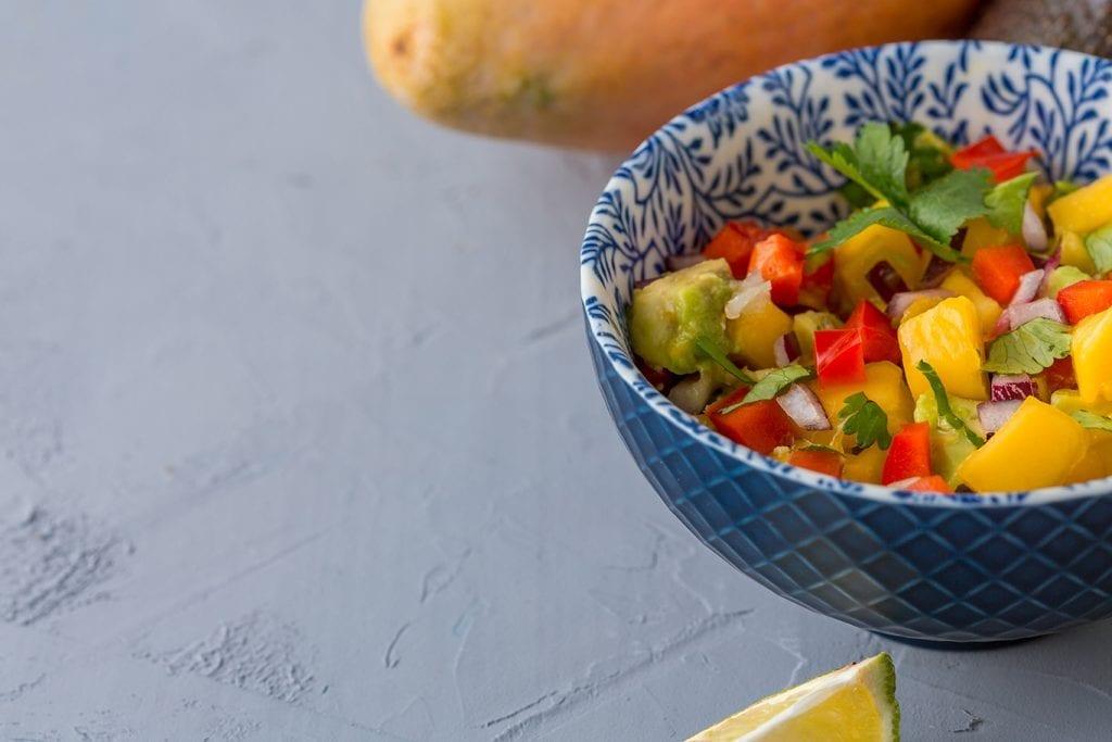 Avocado & Mango Salsa Recipe