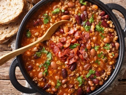 bacon and brandy baked beans recipe
